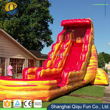 colorful inflatable water slide for sale adults funny on water world for park
