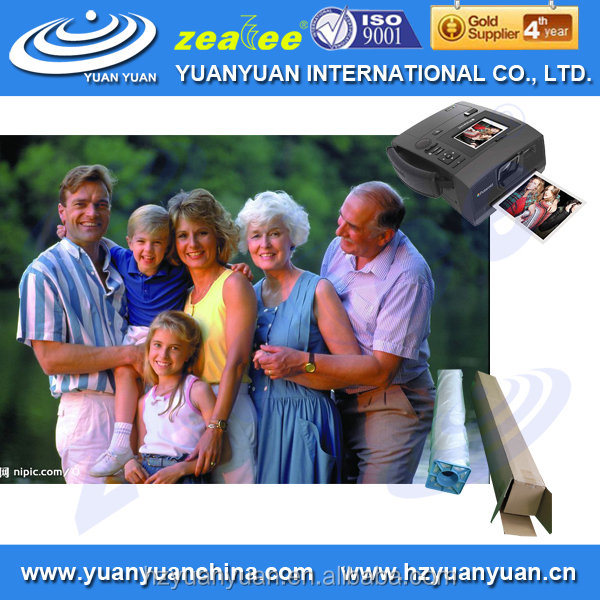 5WP-220PHG HIGH QUALITY! YUNAYUAN waterproof glossy RC pinkjet photo paper in a4 in roll