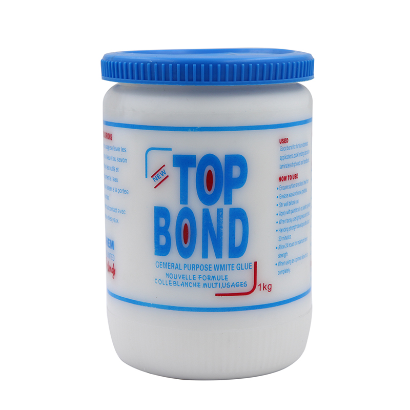 Factory Direct OEM Accepted Top Bond Durable Strong Strength White Vinyl Glue Adhesive