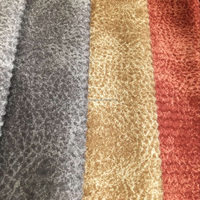 polyester printed/embossed soft hand feel velvet/velboa/velveteen toy fabric