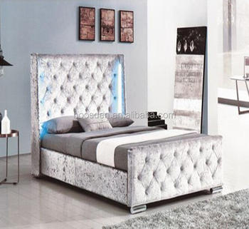 latest soft bed designs modern queen size bed for sale BSD-450258