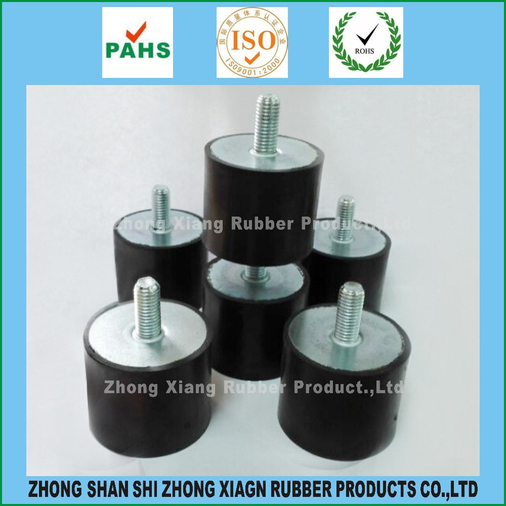 Customized Auto Anti Vibration Rubber Mounts, diameter 10 to 200 mm Various sizes are available