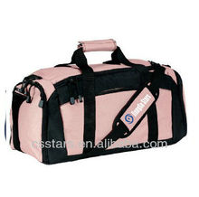 Light Pink 600 Denier Polyester Gym Bag