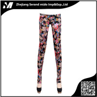 New Latex Mid Waist Women Leggings