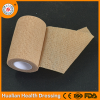 Disposable skin color self adhesive bandage
