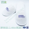 no- woven custom logo disposable spa slipper