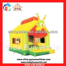 hot sale kid's game plastic inflatble castle playground house for kid's