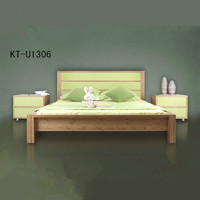 Classical natural bamboo bed frame for living room