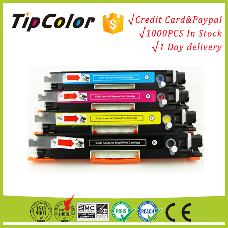 Compatible HP ce310a new empty color laser toner cartridge