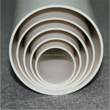 types of plastic water pipe pvc schedule 80 pipe