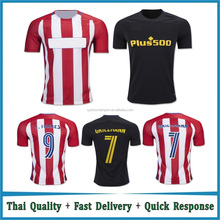 Wholesale 2016 2017 Thai Quality Soccer jerseys camisetas de futbol