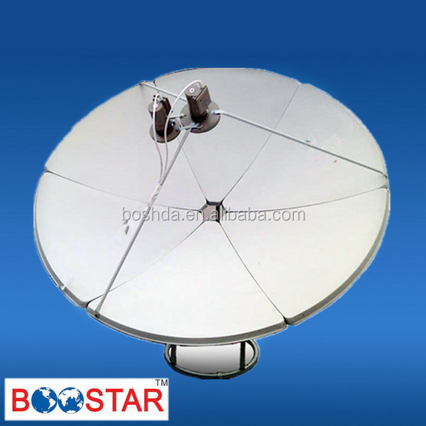 180cm satellite dish antenna, Ku/c Band 180 Dish, Offset Antenna