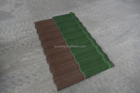 Amazing economy colorful stone coated rainbow roofing sheet