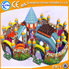 Amusement park giant inflatable bouncy castle funny inflatable fun city air jumping obstacle