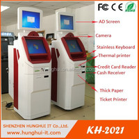 new design floor standing coin to cash currency exchange kiosk machine