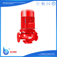 China electric multistage fire water pump