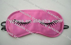 2013 Pink stain with one color logo lace eyemask