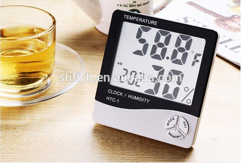 HTC-1/HTC-2 household electronic digital barometer hygrometer thermometer