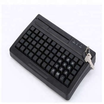 KB-60 60 Keys Programmable Keyboard USB+PS/2 With MSR