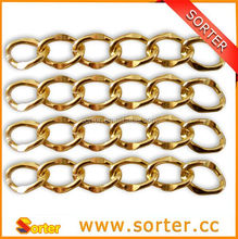 High Quality fashion aluminum jewelry metal chain