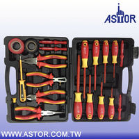 20 pcs 1000V Insulated VDE Screwdriver and Pliers Hand Tool Set Kit