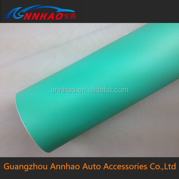 1.52*30M Matte Tiffany Blue Vinyl Wholesale/Car Protection Film