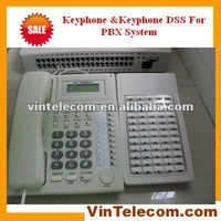 Keyphone with 72 DSS keys for Office phone PBX system