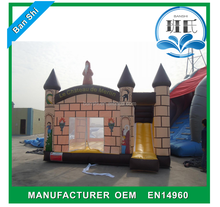 Factory price inflatable mini combo jumper, inflatable jumping castle, castle inflatable combo