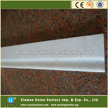 Cheap Crystal White Stone Marble Baseboard