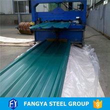 construction material ! pre-painted sheet gauge thickness galvanized corrugated steel sheet