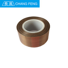 Heat Resistant fireproof fabric coated ptfe adhesive tape