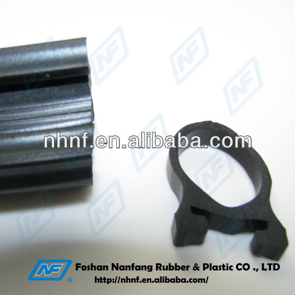Aging Resisitant Rubber Sealing Strip with metal insertion