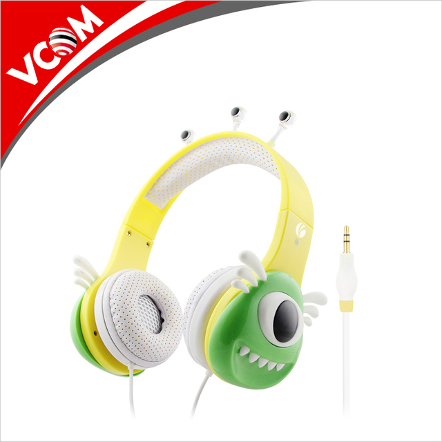 2017 Stylish Cheap Overhead Headphone for Kids and Childrens