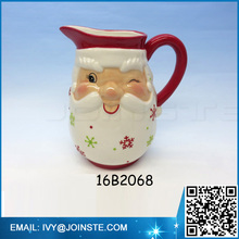 ceramic coffee milk jug Christmas ceramic jug