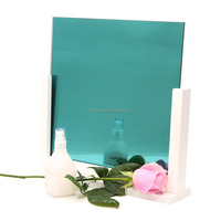 China Supplier Toughened Colored Reflective Plain Mirror Glass