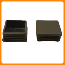 Plastic Square Pipe Inserts/plug for chair legs protection Producer