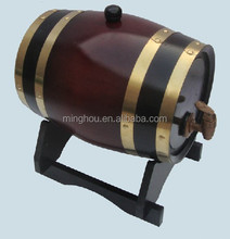 3L used wooden wine barrels, wine barrel,barrel stand