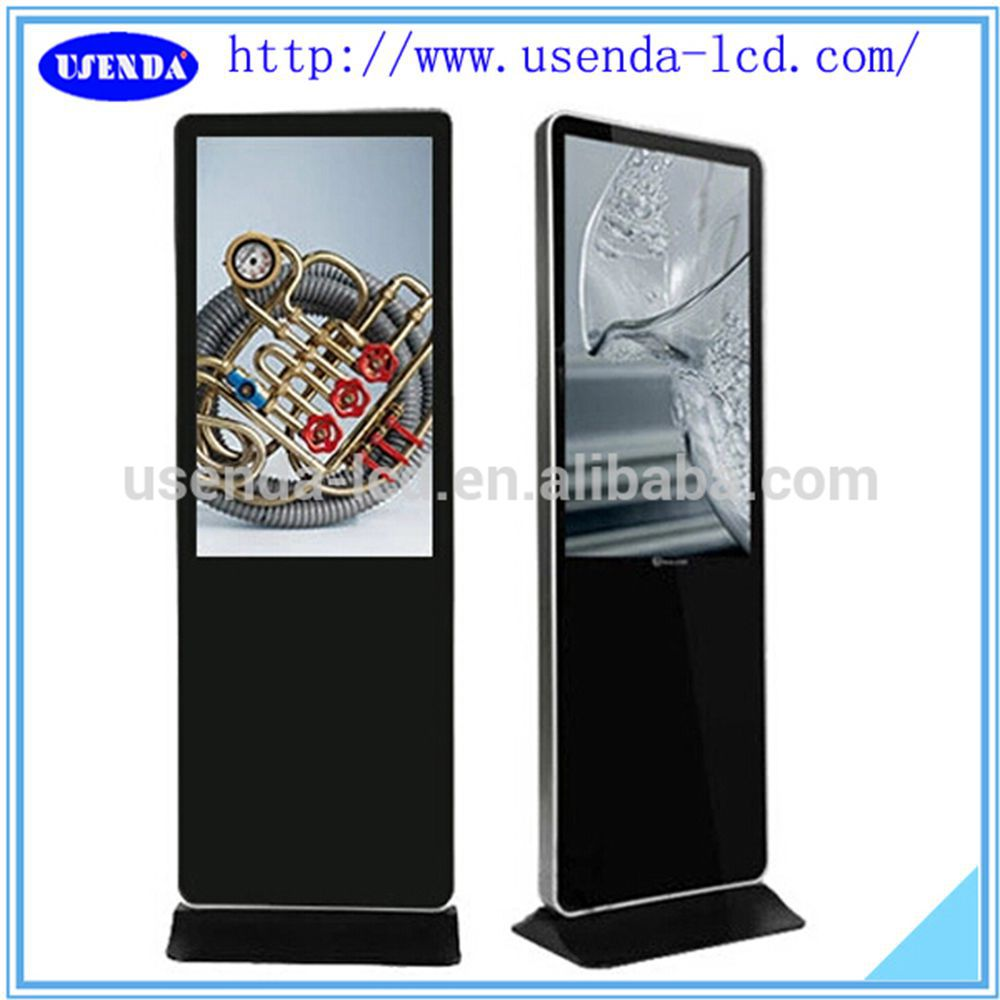Touch advertising 42inch machine touch screen restaurant menu for vending machine