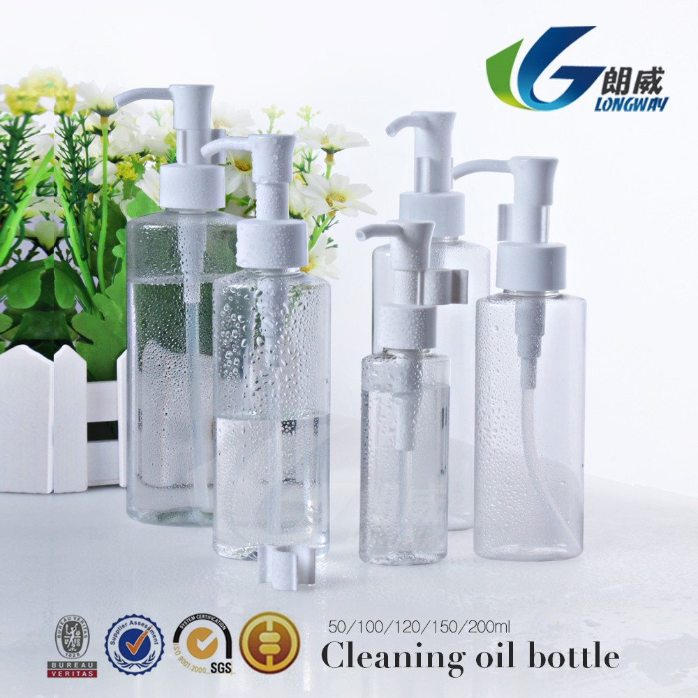 Deep Cleansing Oil 6.7fl.oz./200ml pet empty <strong>bottle</strong> made in china zhejiang alibaba