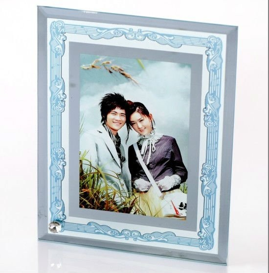 Sublimation Curved Glass Photo Frames Wholesale