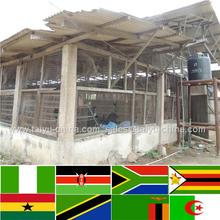 Trade assurance NO.1 Design 50000 chicken house starting a chicken farm for tyson