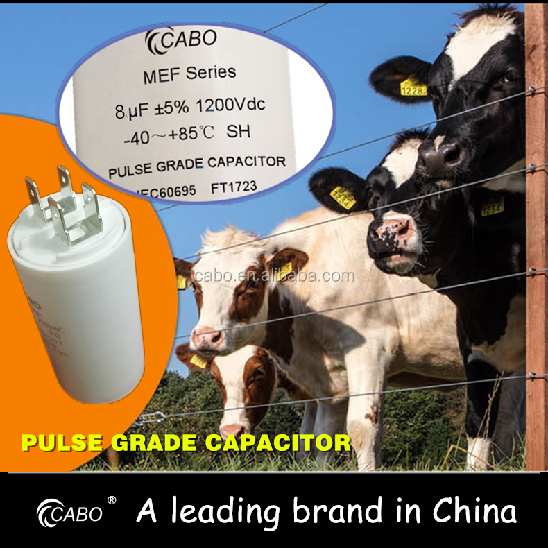 CABO MEF series /High grade pulse capacitor energiser capacitor for energy storage 1200V 8uF
