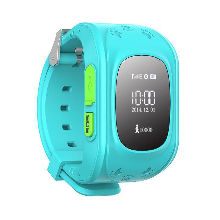Baby child gps tracker wrist watch kids gps smart watch q50