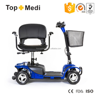 Cheap Prices mini 4 wheel electric wheelchair electrical mobility scooter for adults