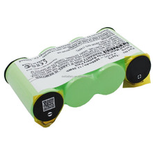 Ni-MH 4.8V 3000mah 3.0Ah Battery Replaces AEG Type 75 Fits AG64X Liliput rechargeable vacuum cleaner