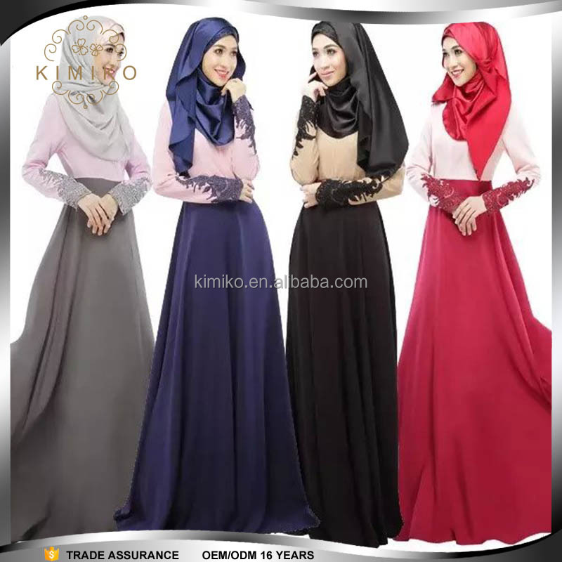 Fashion Wholesale Muslimah Dubai Jubah