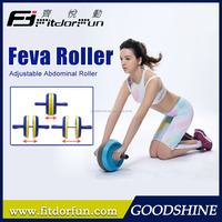 Feva Roller-Wholesale Classical Multicolored High Impact ABS Adjustable Double Fitness Equipment Ab Roller as seen on TV Factory