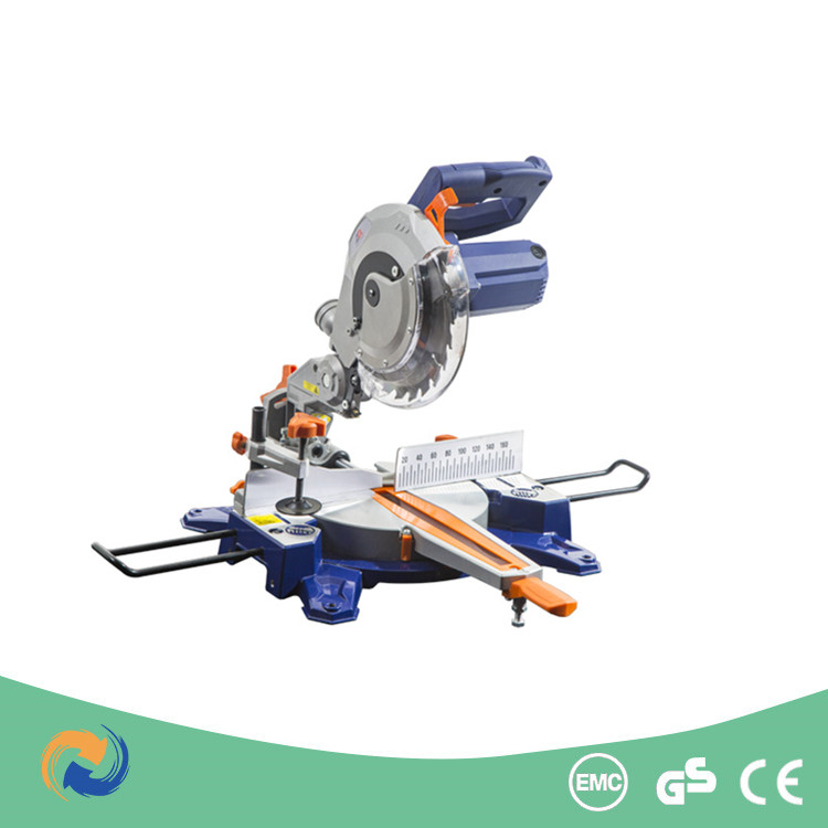 210mm 1450W Wood and Metal Cutting Machine/Table Sliding Mitre Saw with Laser