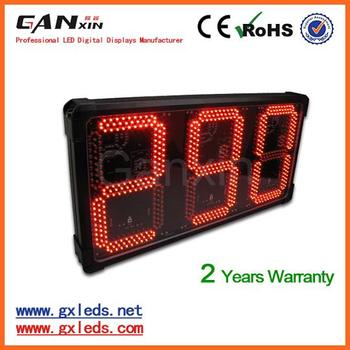 12inch digital Call queuing led display counter