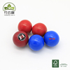 wooden ball baby kids toys color ball 40mm Christmas tree decoration
